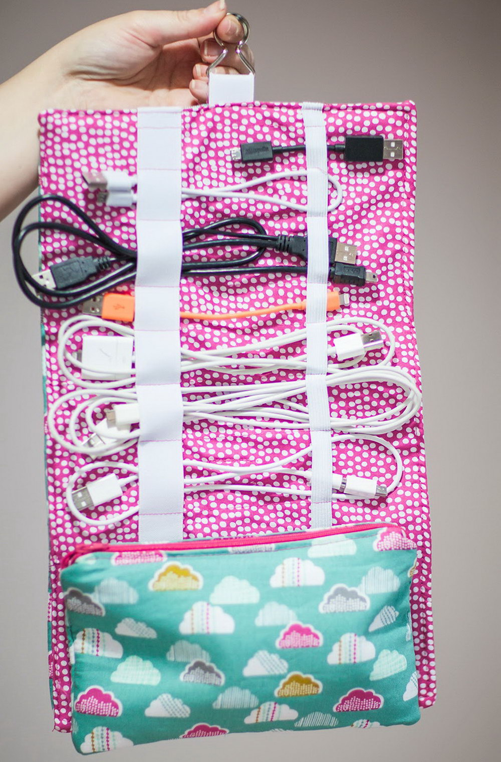 Diy Cord Organizer Travel