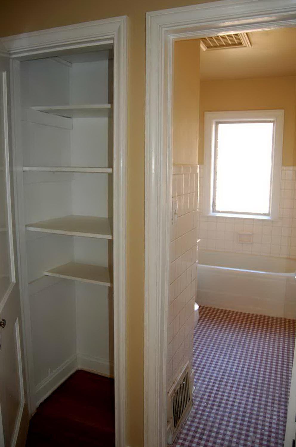 Bathroom Linen Closet Storage Ideas