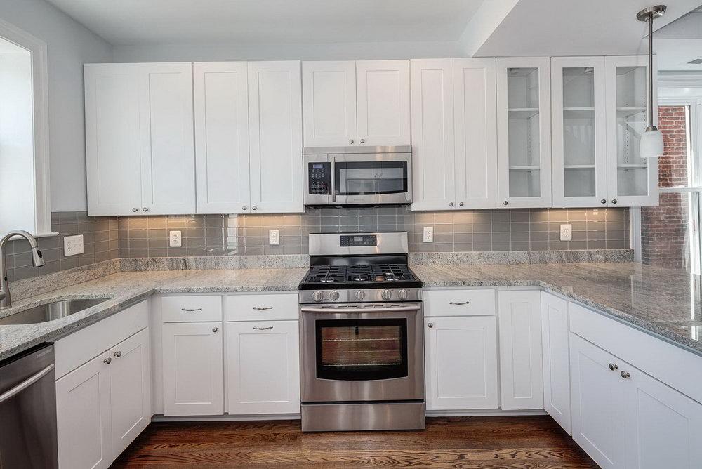 White Cabinets Kitchen Designs