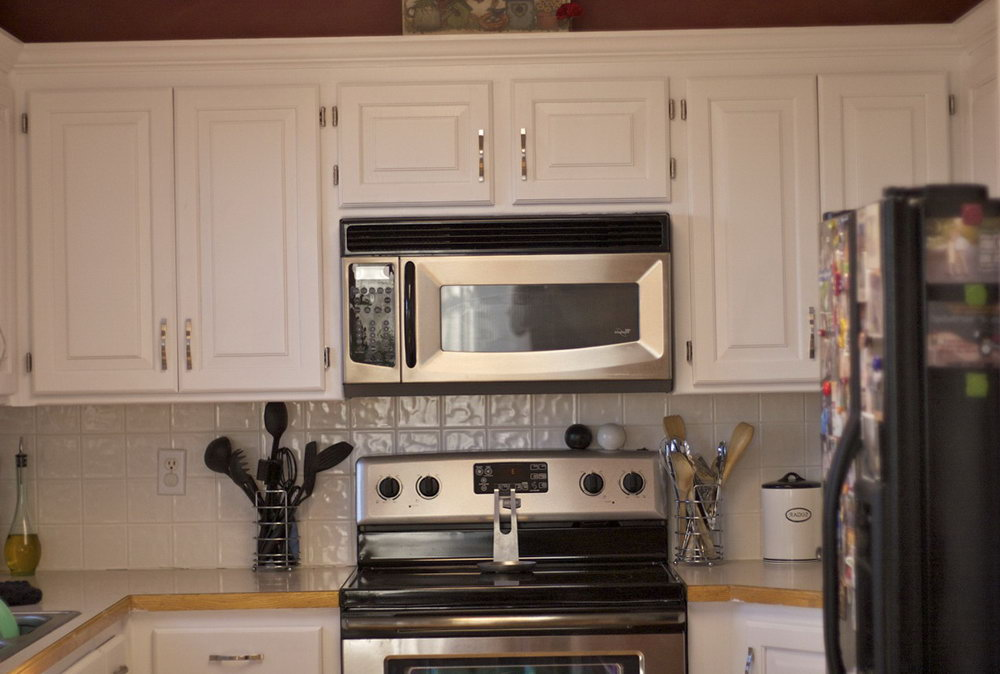 How To Paint My Kitchen Cabinets White